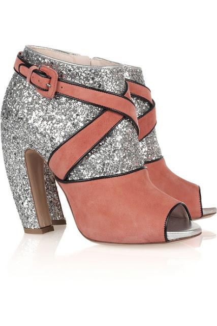 Heart Peep Toe Shoes