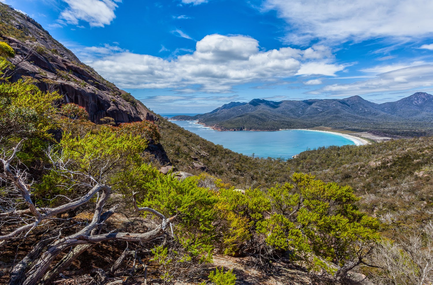 Wineglass Bay in Tasmania - foto di Duncan Rawlinson