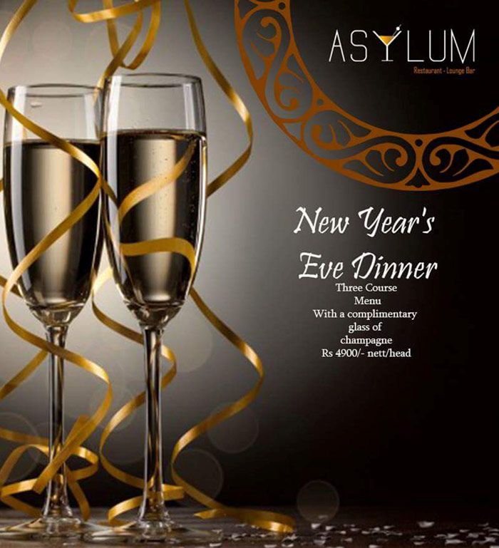 Asylum, the exciting new addition to Colombo's restaurants is an indoor restaurant and bar located at the stunningly beautiful Independence Arcade, Colombo. The Independence Arcade is a beautiful heritage building, that has been recently restored to its former glory. The restaurant overlooks the terrace, with serene gardens and a cool breeze that can take your breath away. You would never imagine yourself to be in the heart of Colombo.  Asylum Restaurant & Lounge Bar offers guests a formal dining area which is a great meeting place to taste cuisines from around the world with an intimate gathering of friends and family. The menu serves an extensive range of the finest canapés and a mouthwatering fusion cuisine, with an excellent choice of cocktails and wines to truly give you a blissful dining experience. The delicious deserts are a ' must try' at The Asylum.  The lounge Bar offers a relaxed and sophisticated ambiance for an array of cocktails, drinks and wines with some cool tunes to unwind to. Whether it be a casual 'catch up' or a Corporate Business meeting, this exclusive Venue can cater to all your needs. Visit Asylum and be inspired!