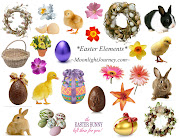 Free Easter Collage Sheet. Becky created this lovely collage sheet mjfreesheeteasterelements