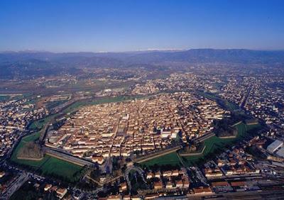 FLyfoto av Lucca, Toscana