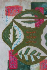 Smallbean stitching at the Bead Scene