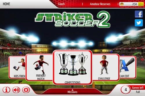 Baixar Jogo Para Celular Android Striker Soccer 2 Dinheiro Infinito