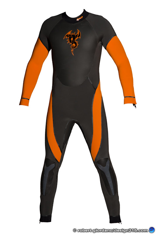 Exceed Wetsuits product photography by Robert Giordano
