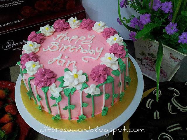 Tempahan Kek, untuk raikan sambutan Hari jadi ke 20.. Selamat Hari ...