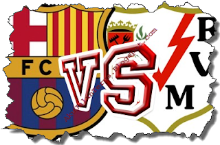 FC Barcelona Vs Rayo Vallecano