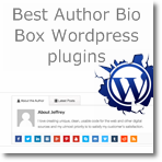 11 best Author Bio Box Wordpress plugins to use