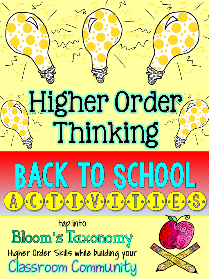 http://www.teacherspayteachers.com/Product/Back-to-School-Higher-Order-Thinking-Activities-Gifted-or-Any-Class-Friendly-1337822