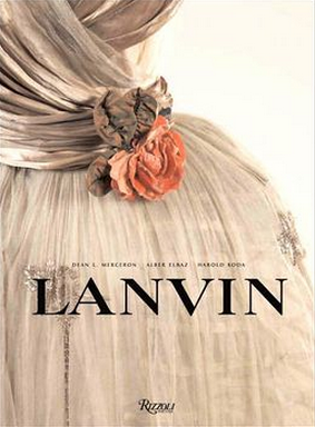 Fashion Books, Lanvin - via TheFashionLush.com