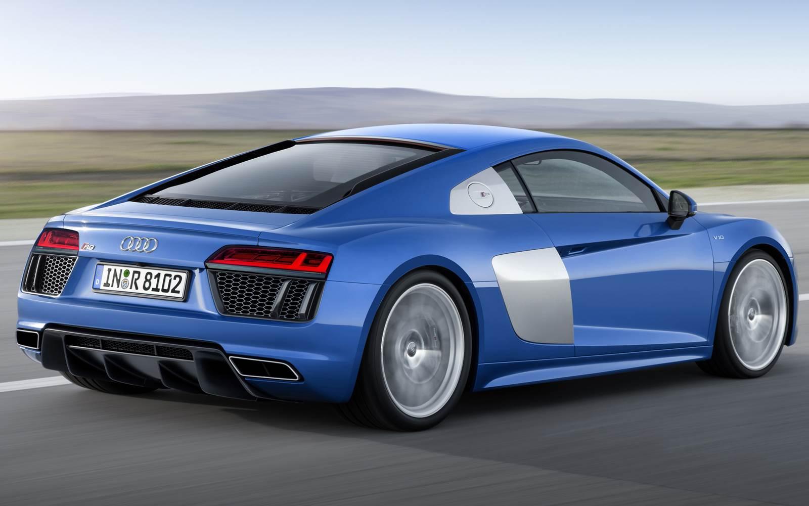 Novo Audi R8 V8 2016
