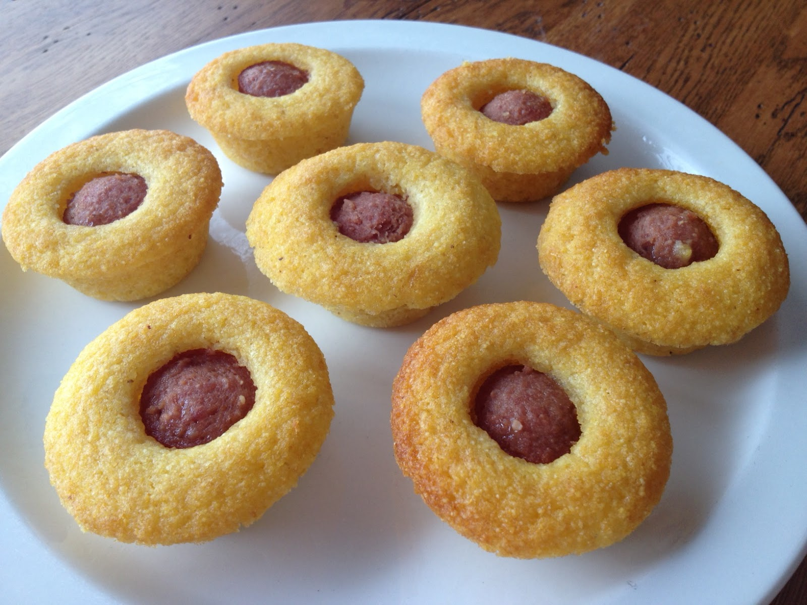 Cora Cooks: Mini Corn Dog Muffins - Food for Fun