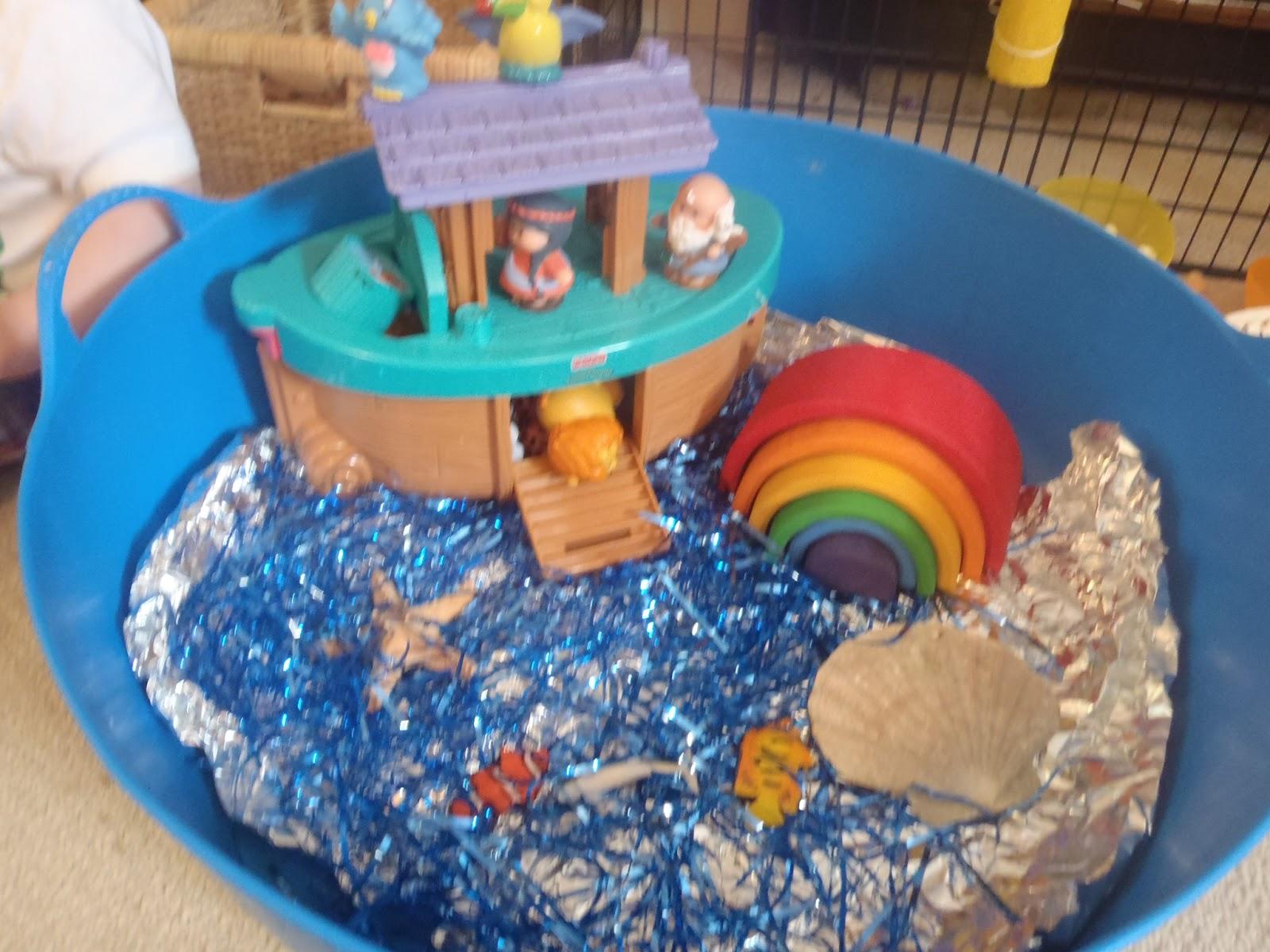 very messy mummy sensory noah u0027s ark