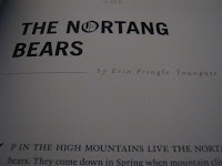 Image of first page of The Nortang Bears by Erin Pringle-Toungate