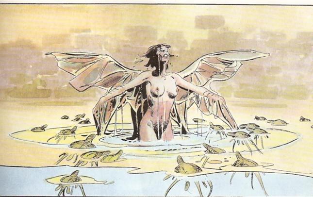 alas tras el monte de venus
