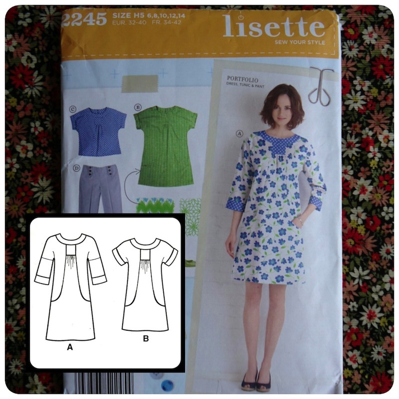 Simplicity's out-of-print Lisette Portfolio pattern
