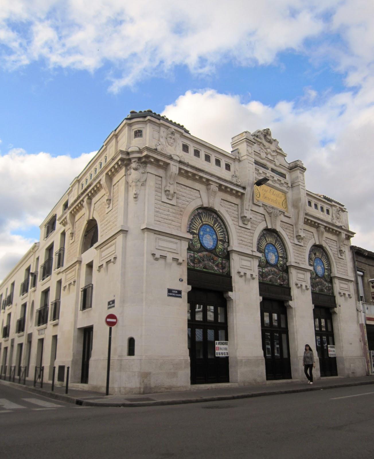 Ciné-Théâtre Girondin: the façade remains the same - Invisible Bordeaux