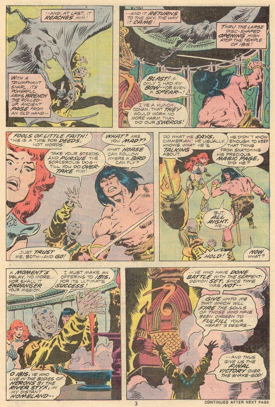 Conan the Barbarian (1970) Issue #68 #80 - English 4