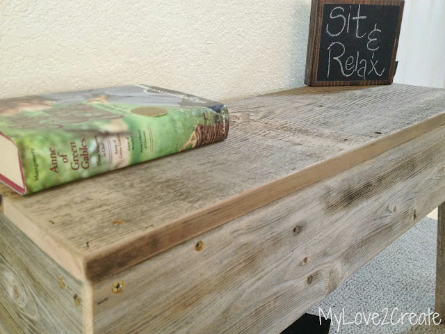MyLove2Create, Old Fence Wood Bench