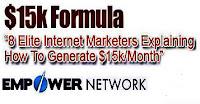 Empower Network 15k formula