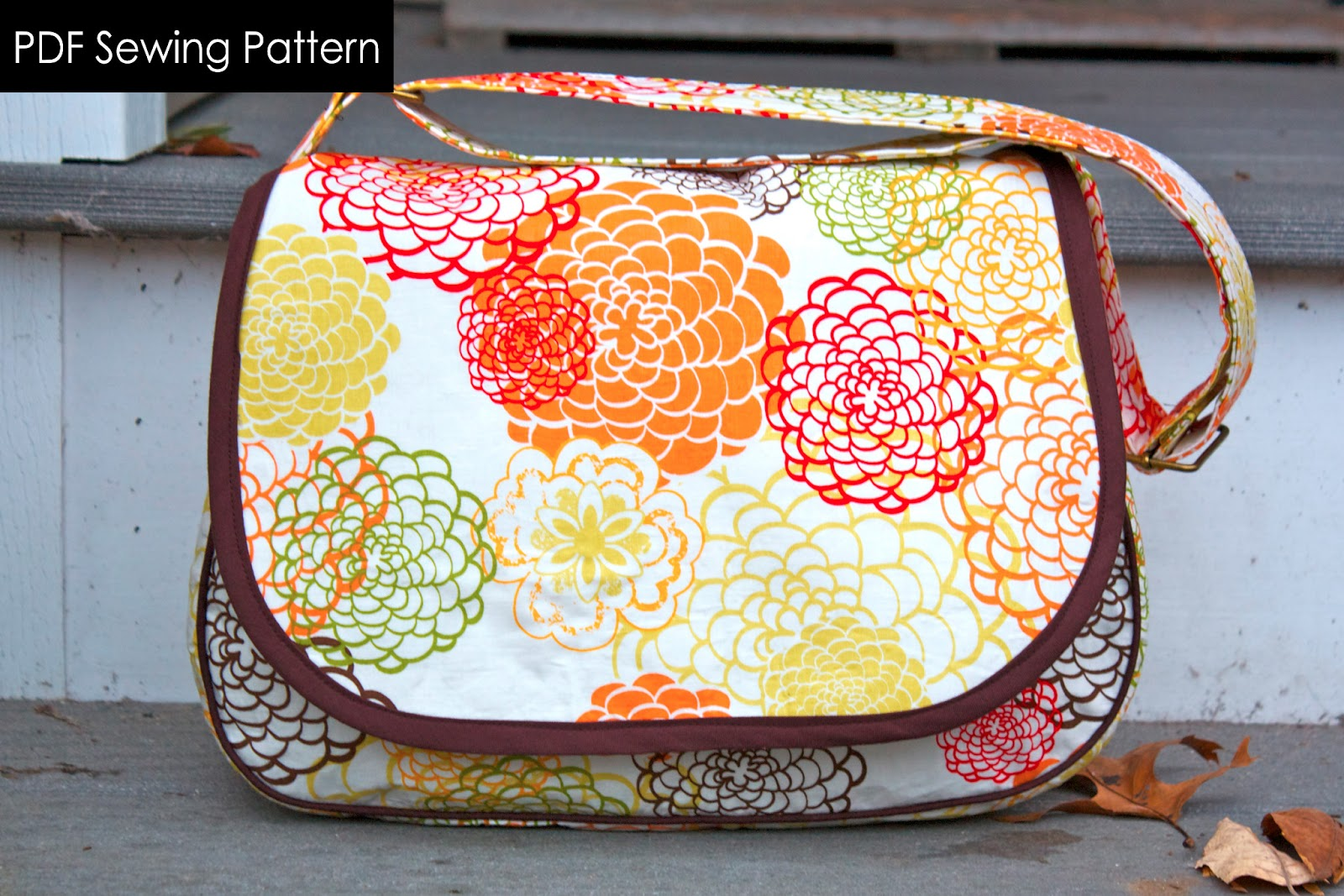 Zaaberry mirabelle messenger bag mirabelle messenger bag a 14 page full color instant download pdf sewing pattern read more about this bag here jeuxipadfo Choice Image