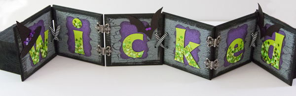 Wicked Sign @craftsavvy #craftwarehouse #wicked #halloween #diy #sign