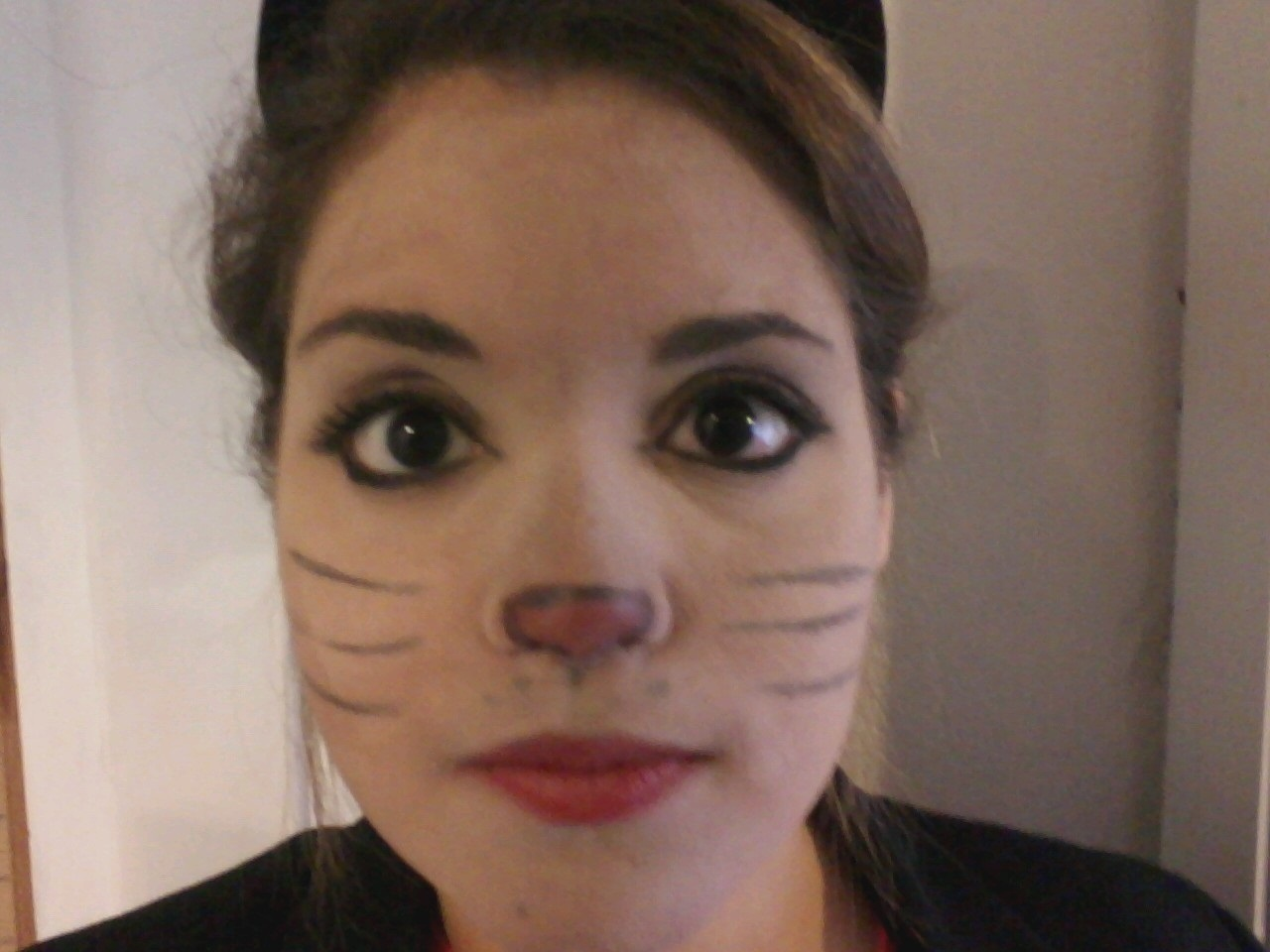 two beans or not two beans: cat make-up practice = fail