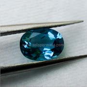 Batu Permata Natural Blue Topaz - SP1038