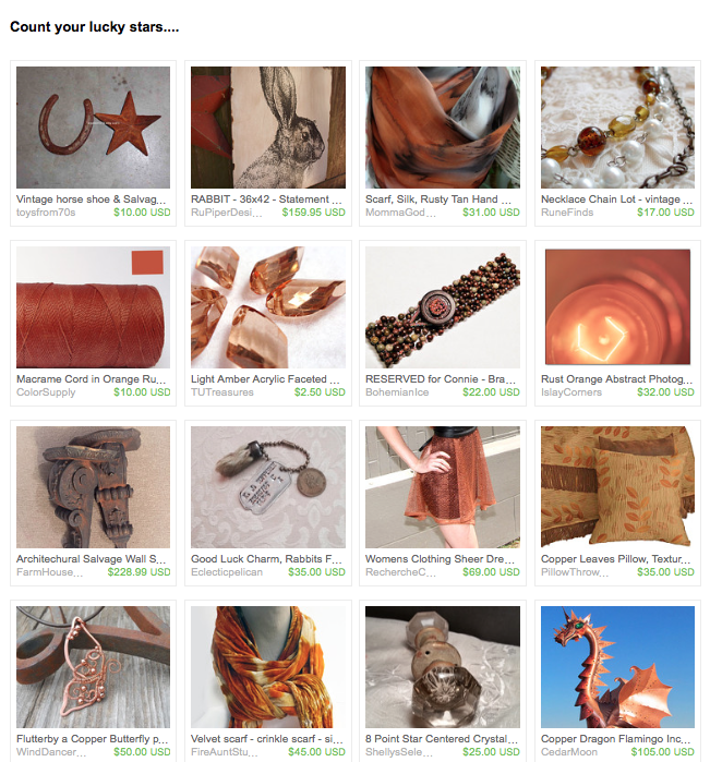 Gorgeous Copper Gifts, Wind Dancer Studios