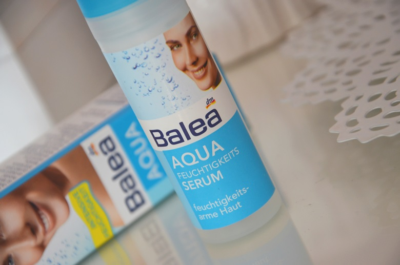 Porcja nawilżenia dla skóry z serum Balea