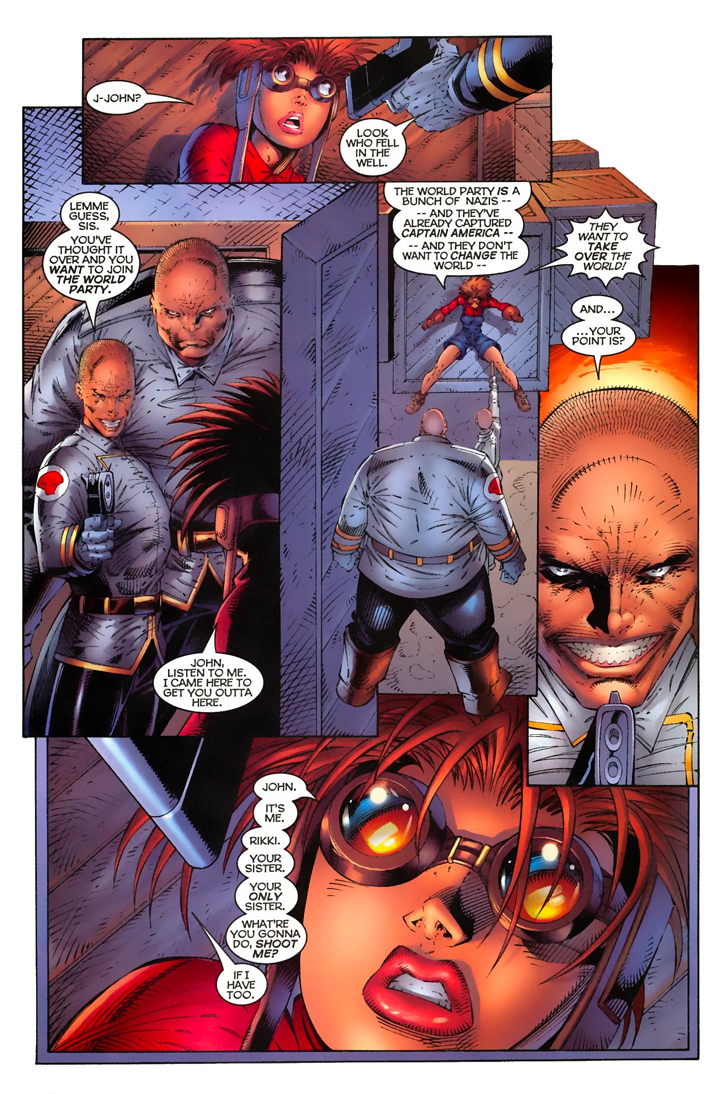 Captain America (1996) Issue #4 #4 - English 4