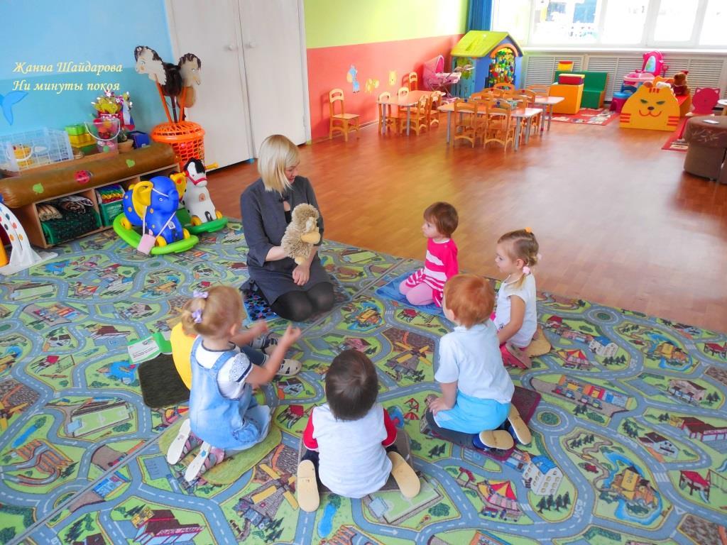Конспекты сюжетной игры семья для детей 2-3 лет