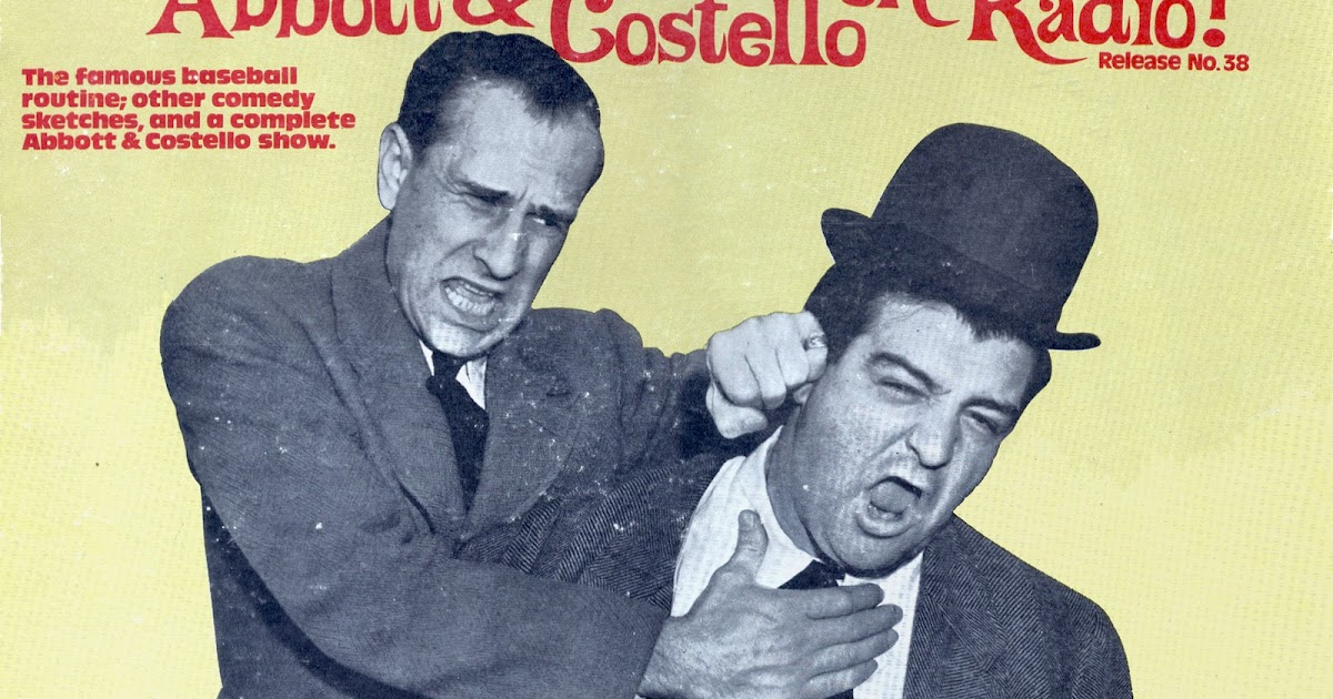 Vintage Stand Up Comedy Abbott Costello