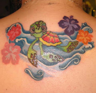 popular turtle tattoos