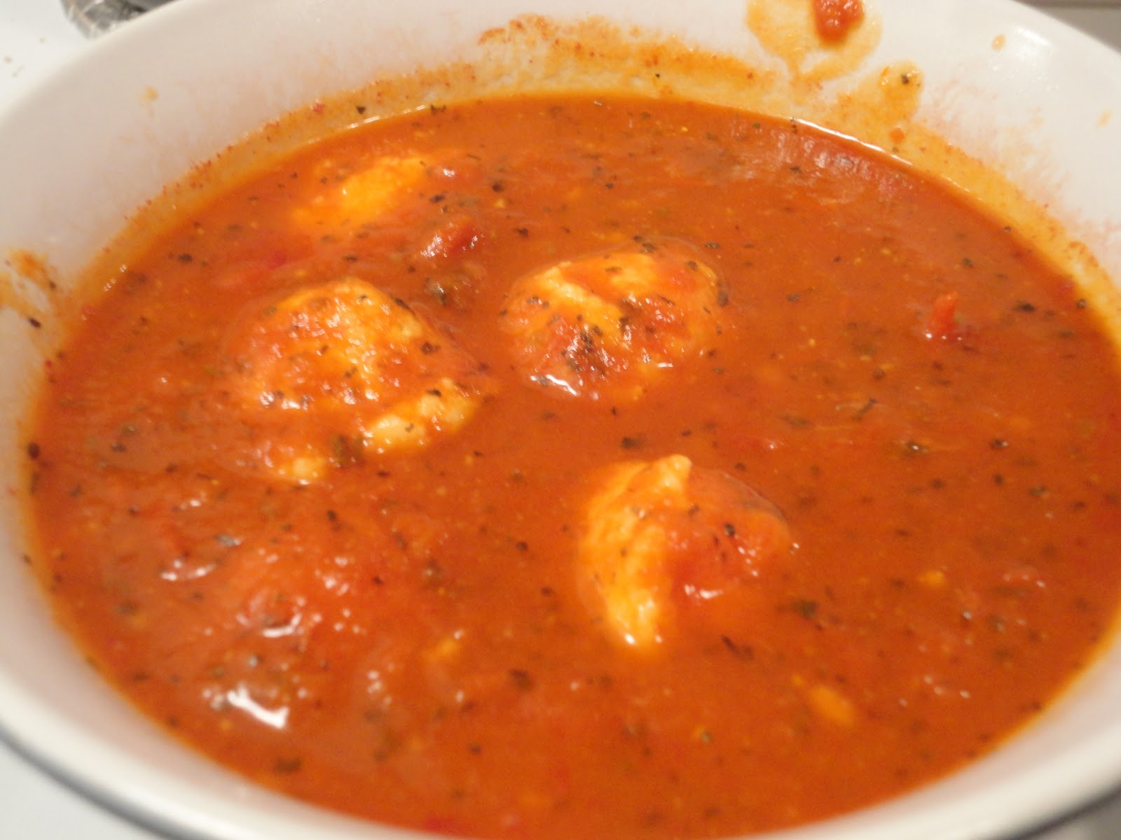... Journey in the Kitchen: Tomato-Basil Soup with Ricotta Dumplings