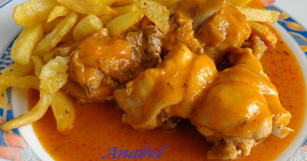 Un poco de todo pollo en salsa en olla rapida for Cocinar 2 muslos de pollo