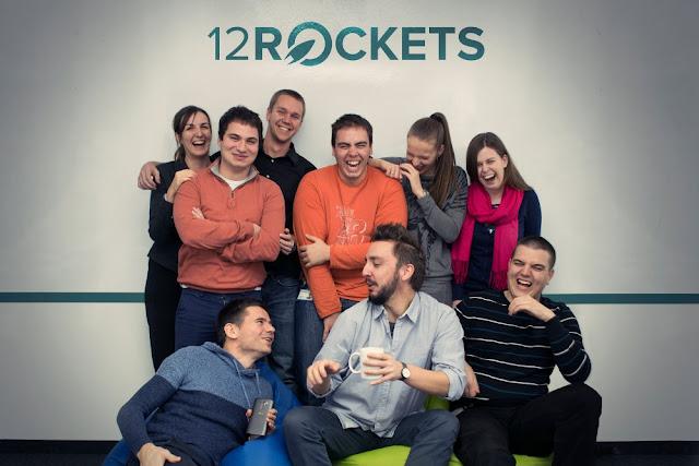 Fotografija inicijalnog 12Rockets tima