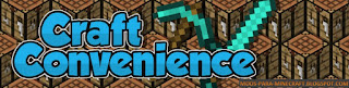 Craft Convenience Mod para Minecraft 1.8