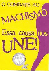 TODOS AO COMBATE AO MACHISMO