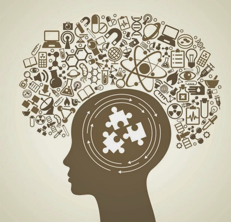 gambar ilustrasi otak manusia