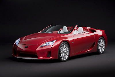 Lexus Concept Sports Car Picture