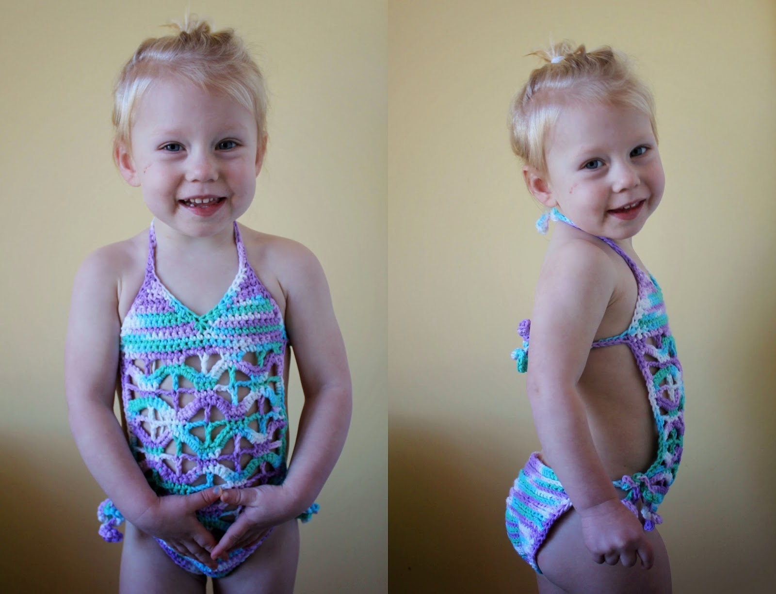 Crochet One Piece Bathing Suit : Crochet a bit of cozy: Swimsuit!