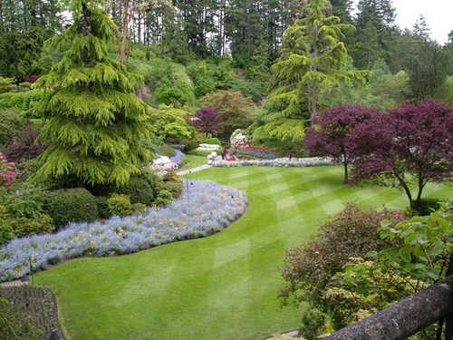 share good stuffs butchart garden the most beautiful
