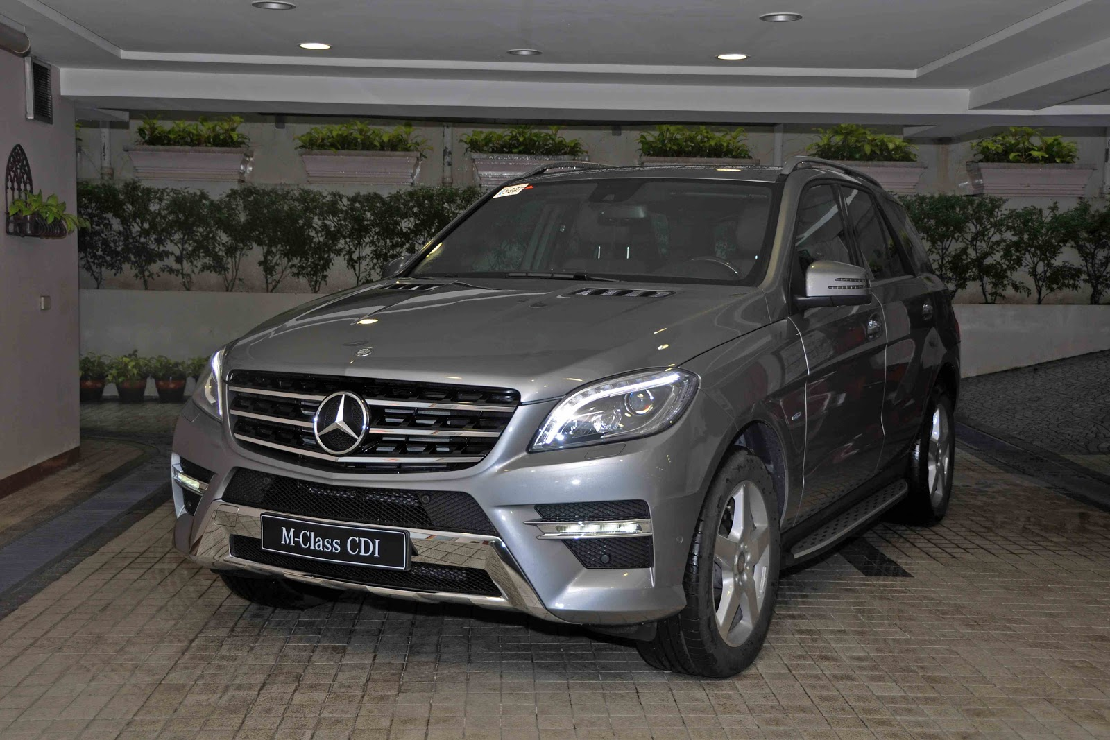 on your mark 2012 mercedes benz ml 350 cdi