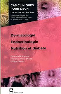 Dermatologie - Endocrinologie - Nutrition et diabète - Cas cliniques pour l'ECN