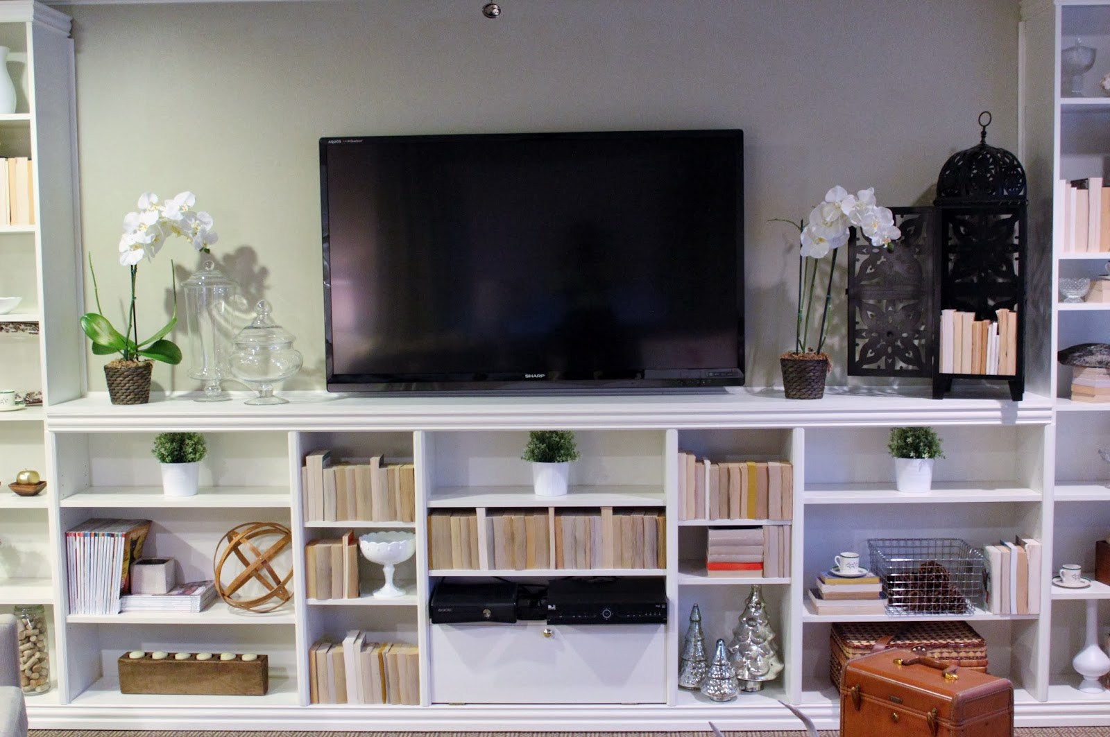 27 Cool Billy Bookcases Built In Yvotube Com # Muebles Billy Ikea
