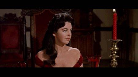 Madeline (Myrna Fahey) dans La Chute de la maison Usher, de Roger Corman (1960)