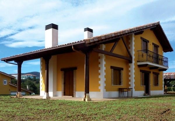 Planos de casas gratis plano casa rural de 153 m2 - Casas rurales ecologicas ...