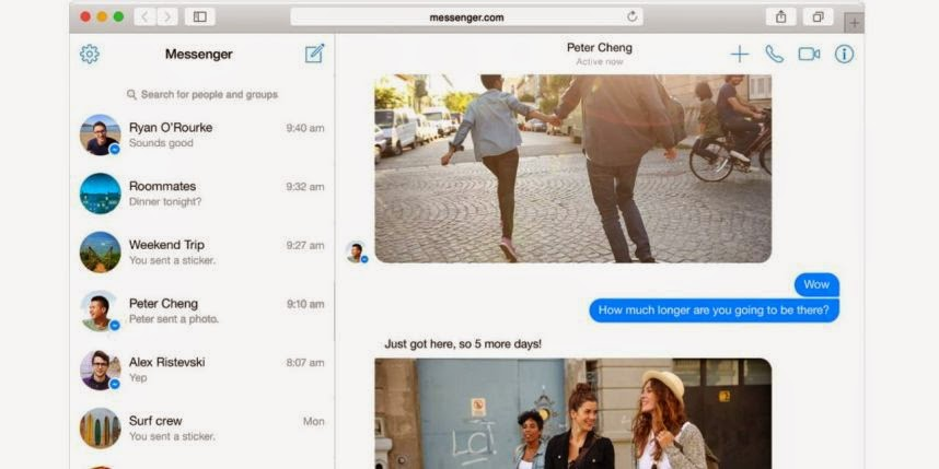 Facebook Messenger débarque en version web