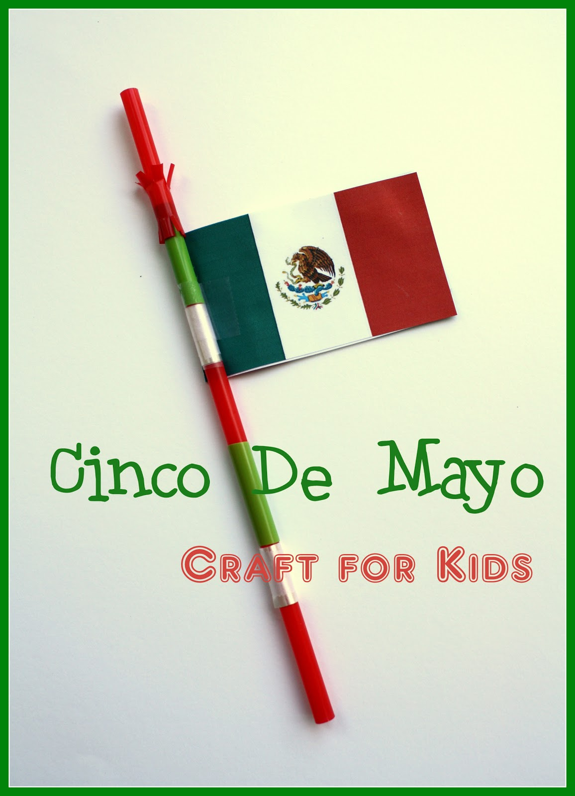 Athome De at home cinco de mayo crafts