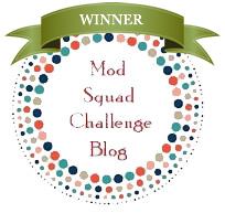 Zmagovalna voščilnica  v Mod Squad Challenge